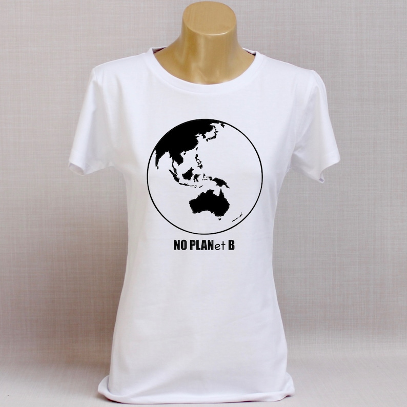No Planet B Womens T Shirt
