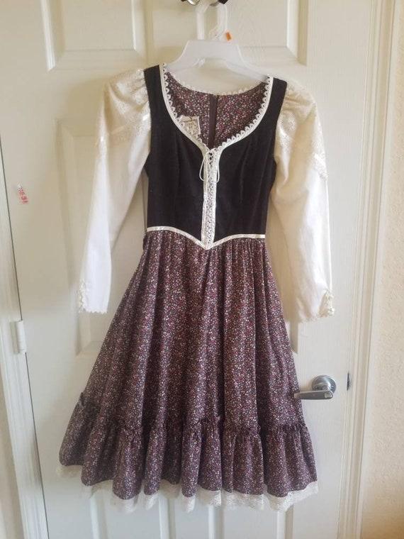 Gunne sax outlander midi prairie dress - image 1