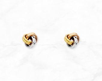 e911f18cd2b4c Tricolor earrings | Etsy