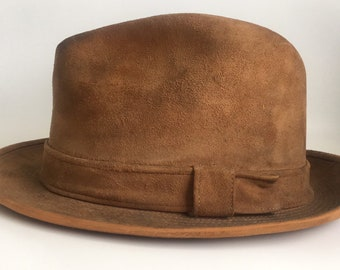 9fb9e08f7abf2 Vintage Fedora Hat Churchill