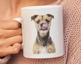 Border Terrier plaque-Keep Calm And Hug a-Idéal Nouveauté Drôle Cadeau