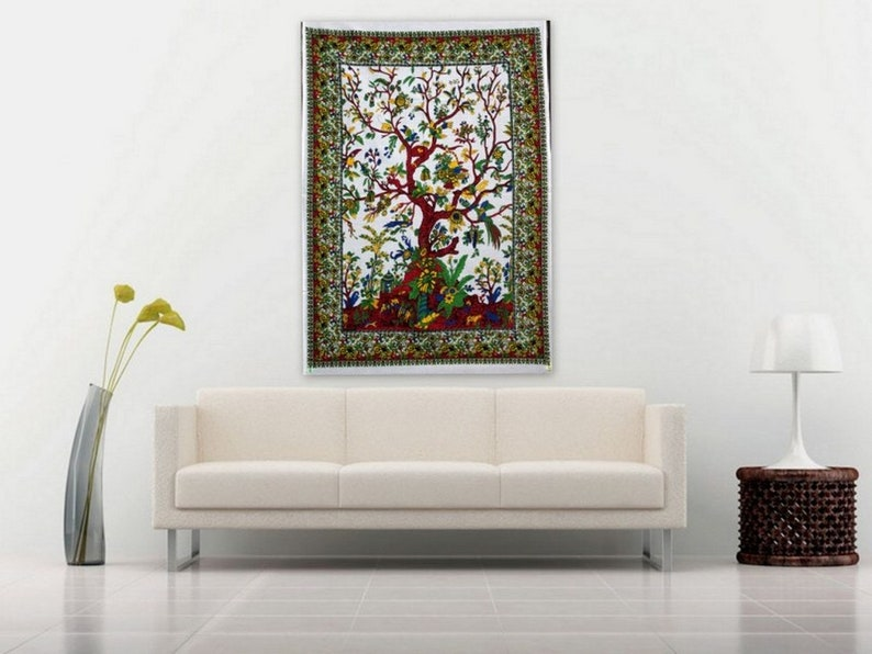 THE ART BOX Wall Poster Tapestry Hippie Wall D/écor 30x40 Inch