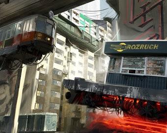 Poland 2077 Kiosk