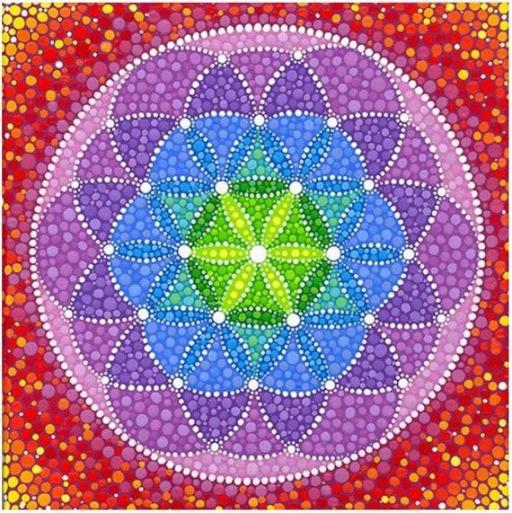 Diamond Dotz Morocco Mandala Full Drill Round Diamond Painting Craft Kit