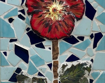 Hibiscus Mosaic Etsy