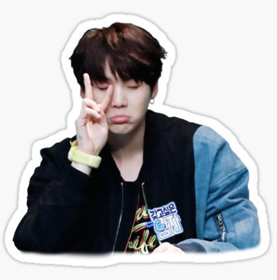 Bts Cute Suga Sticker