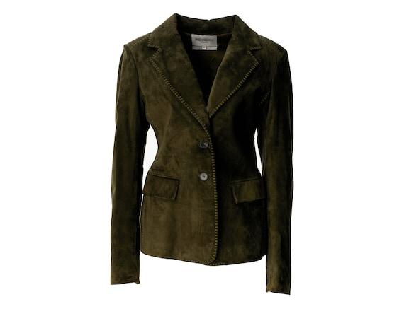 Yves Saint Laurent vintage 1970s suede jacket