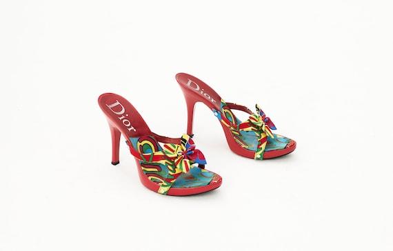 Christian Dior 2003 Rasta Mania shoes