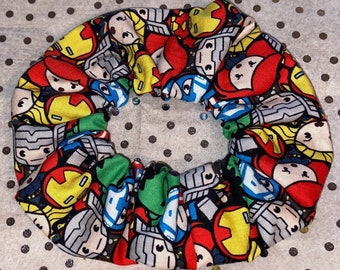 Disney Minnie Mouse Mad about the Dots Handmade Hair Scrunchie by Candystormer.
