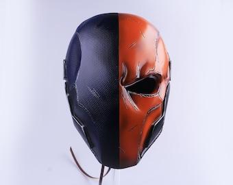 Deathstroke Helmet, Deathstroke Cosplay, Deathstroke Mask, Slade Wilson Cosplay Mask, Arkham Origins Prop Replica