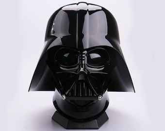 Darth Vader Helmet with Voice Changer, Darth Vader Mask, Star Wars Darth Vader Cosplay, Wearable Movie Prop Replica
