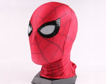 Spiderman Homecoming Mask Spider Man Cosplay Mask with Faceshell and Lenses, Spider-Man Wearable Movie Prop Replica