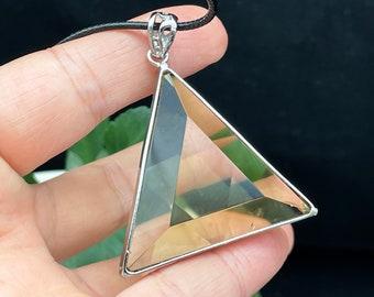 Star of David ,Natural Citrine crystal,Natural Crystal Pendant , Reiki Healing , Gift D080234