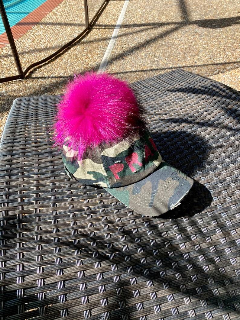 Labels Fur Pom Dad Hat
