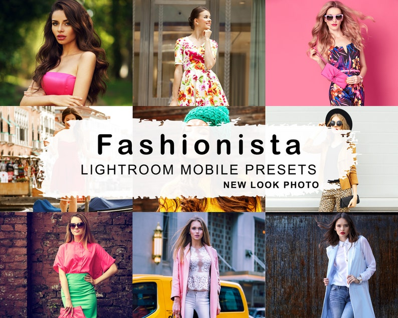 5 FASHIONISTA Mobile Lightroom Presets Best Etsy Presets image 0