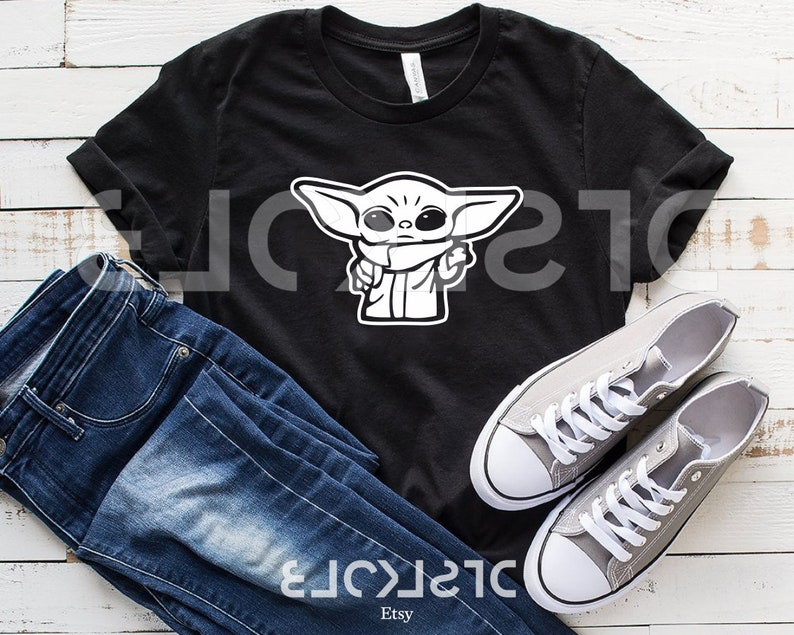 MANDALORIAN Baby Yoda Star Wars Boba Fett This is the Way Silhouette Cricut Cutting Ready Instant Download Sublimation SVG Dxf Eps Png