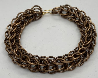 New Antique Bronze Large Full Persian Bracelet