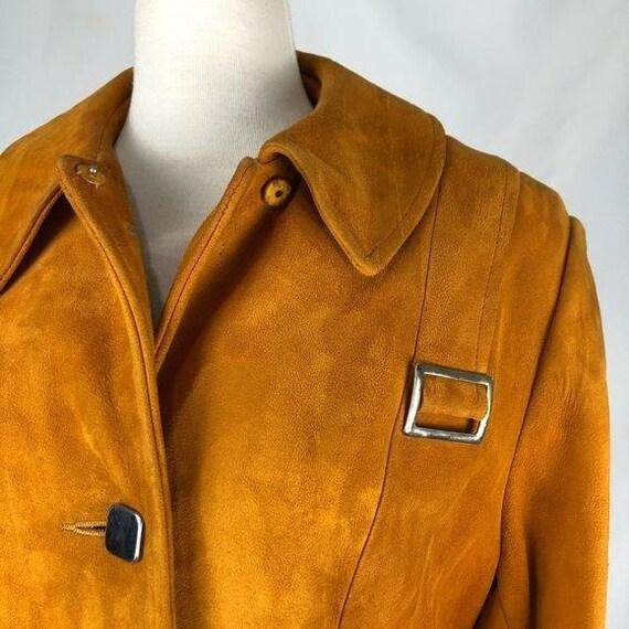 Vintage McCurdy's Orange Suede Jacket