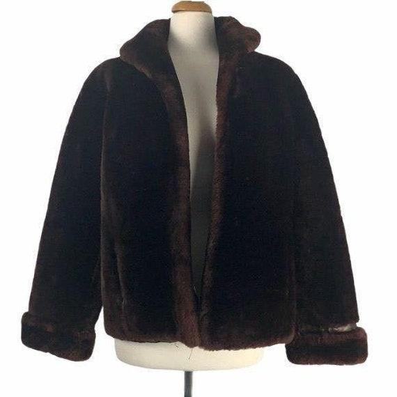 Vintage Mutton Short Jacket