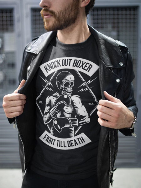 Boxing Fighter Shirt For Men. This Cool Boxing Tee Would Make A Cool Boxing Lover Gift. Some Say Its Also Is A Funny Boxing Shirt Unisex Tshirt