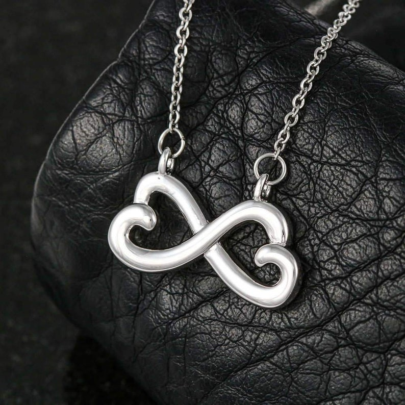 Mother To Daughter Gift Teen Girl Gift Infinity Necklace Heart Necklace Gift For Daughter Daughter Gift To My Daughter