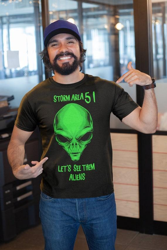 2019 They Can/'t Stop Us All Alien Shirt for Men Women Raid Area 51 September 20 Storm Area 51 T-shirt Black Men/'s Unisex Tee