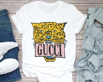 37355cce8448 Gucci Unisex Shirt Gucci Gift Gucci Birthday Gucci Inspired Chanel t shirt  Chanel Logo Louis Vuitton tshirt Versace Gucci for men