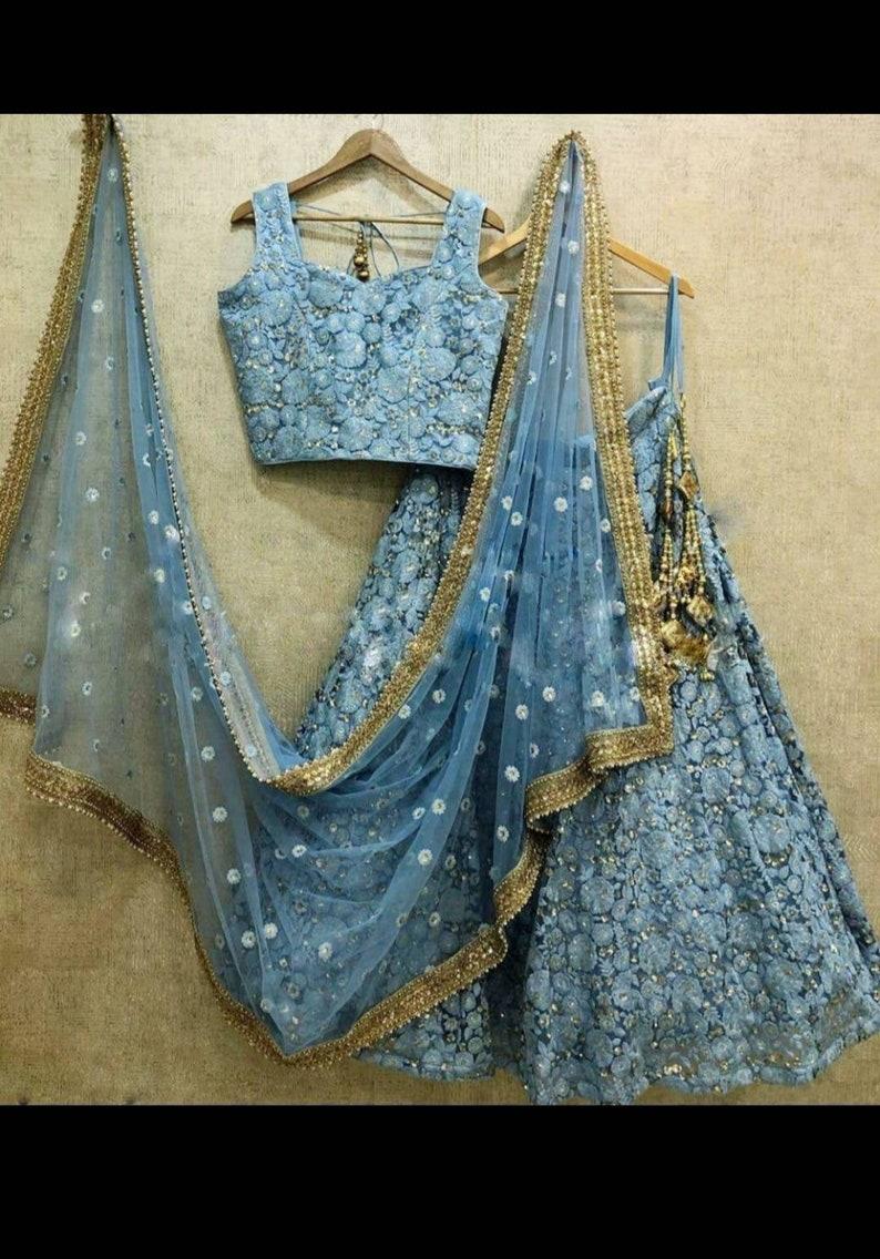 Designer indian lehenga choli partywear lehenga for wedding designer indian bollywood style lehenga choli indian lehenga choli