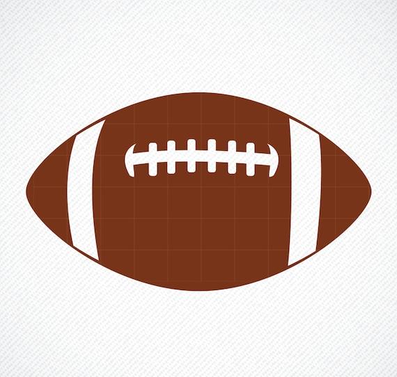 Football Svg Football Silhouette Football Png Football Cut Etsy