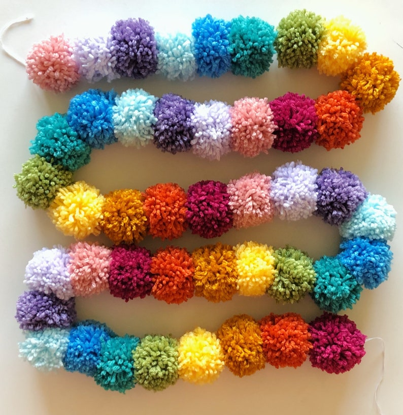 Rainbow Garland! 9ft