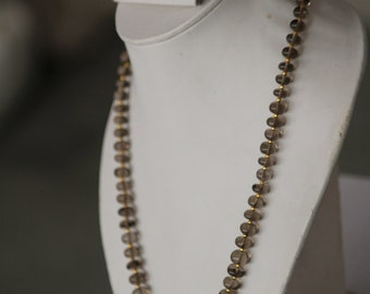 Smokey Quartz Necklace with earrings