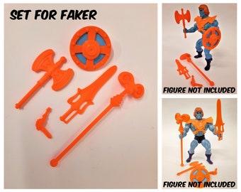 Faker He-Man and His Power Sword 80s MOTU Retro Cartoon Vinyl Art Stickers!