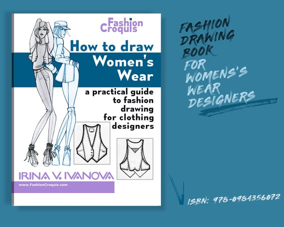 How To Draw Women S Wear A Practical Guide To Fashion Etsy