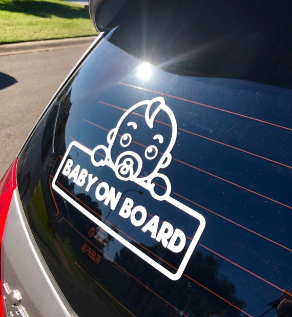 BatGirl On Board Car Window Vinyl Decal Sticker