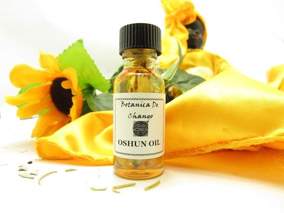 Oshun oil-- Orisha Love oil--for attracting love and marriage