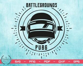 Pubg Logo Etsy - pubg soldier silhouette playerunknown s battlegroud logo pubg silhouette studio svg pubg helmet silhouette pubg svg png dxf eps pdf