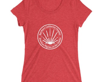 Ladies' short sleeve t-shirt - NorCal Chapter