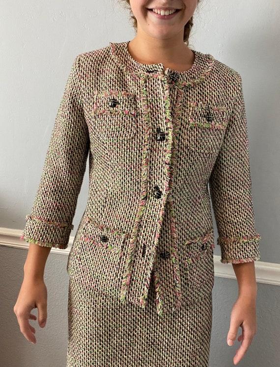 Two Piece Tweed Ensemble - image 1