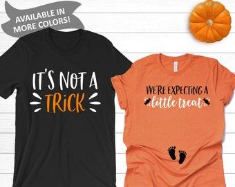 Halloween Pregnancy Announcement Shirt.Halloween Pregnancy Etsy