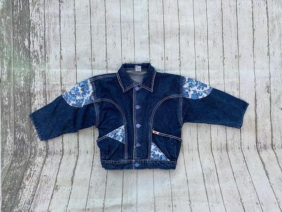 Kids: antique vintage blue 4years child jacket