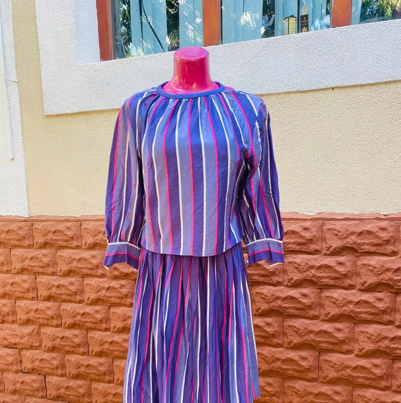 Dress: purple dress, size L