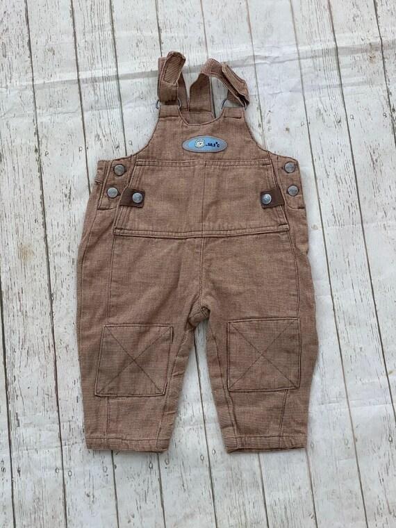 Kids: antique brown vintage trousers , newborn