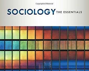 Sociology The Essentials 8th Edition Pdf