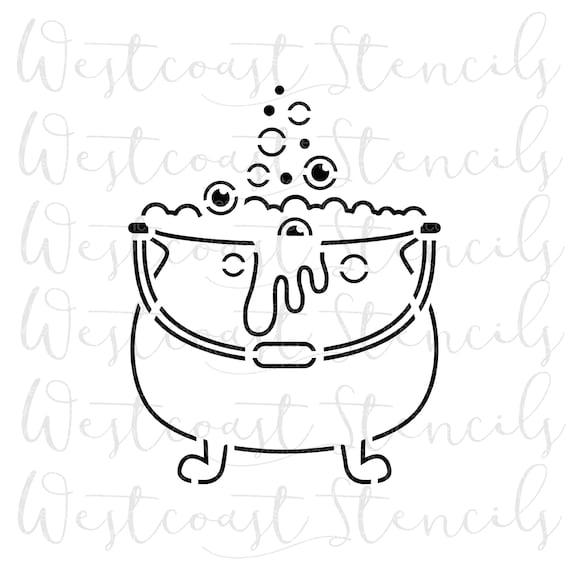 Cut File SVG File Cookie Stencil DIGITAL PYO Camp Fire Stencil Digital Download