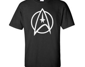 62a3851d8 Star Trek Shirt - The Federation Symbol T-Shirt