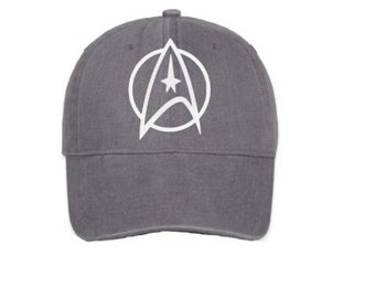 eca3146b3409f Star Trek Hat - The Federation Symbol - Baseball Cap