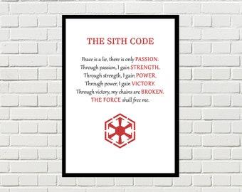 Sith Kodex Etsy