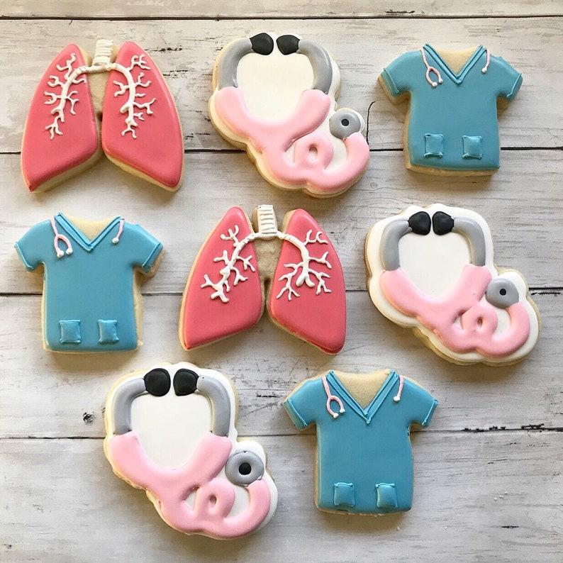 Nurse Theme Sugar Cookies