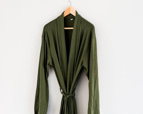 PREODER - The Tencel Robe - Green