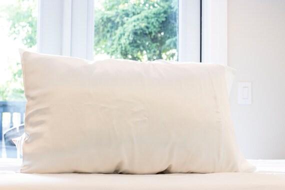 White Silkie - 100% Silk Charmeuse Pillowcase